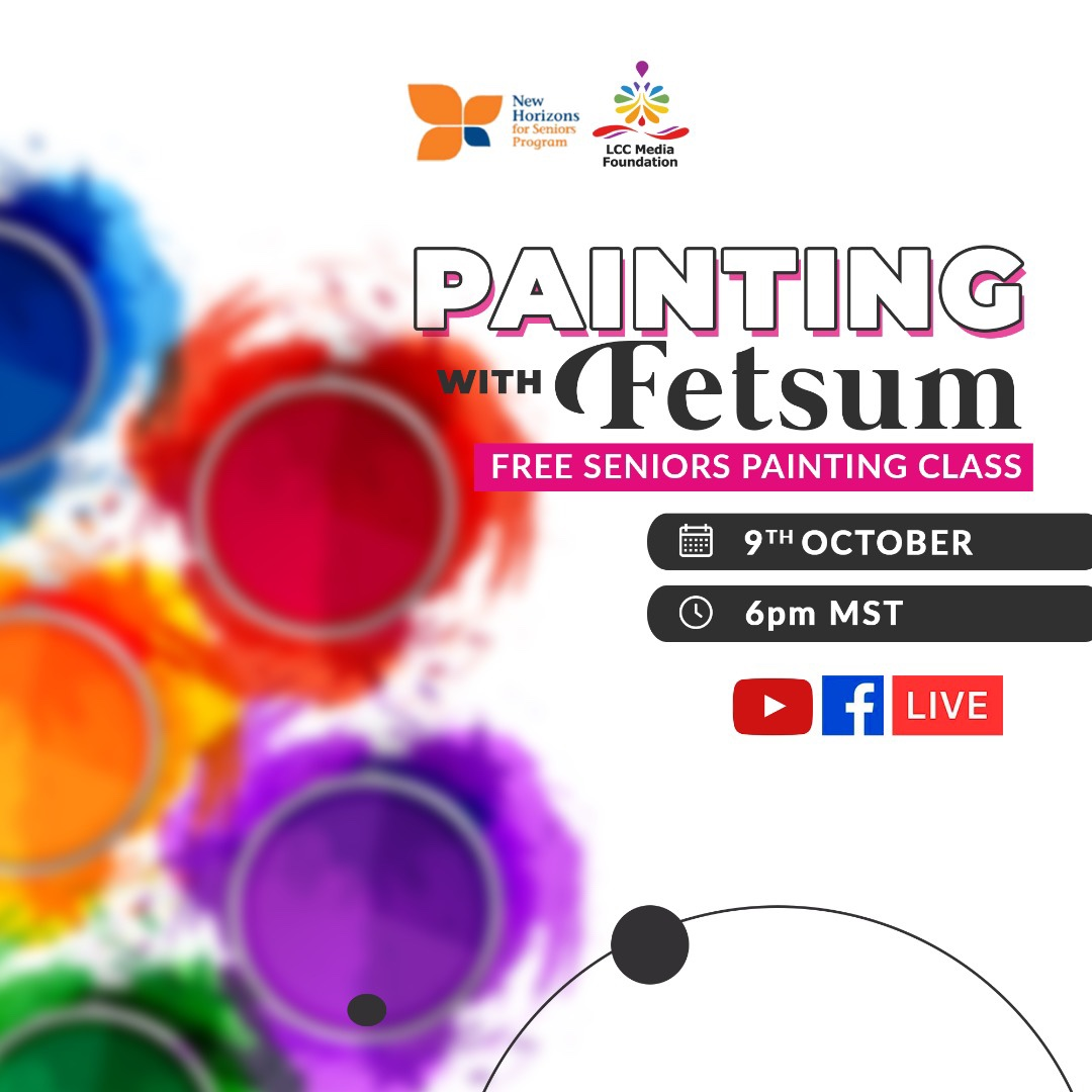 Painting Session Commences on the 9th October 2021